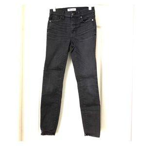 Women's Madewell High Riser Skinny Jeans Size 25